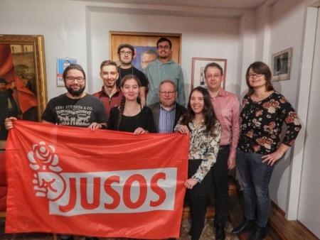 Jusos Forchheim Vorstand 2019