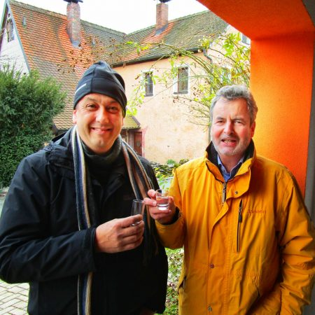 Hans-Jürgen Nekolla und Reiner Büttner