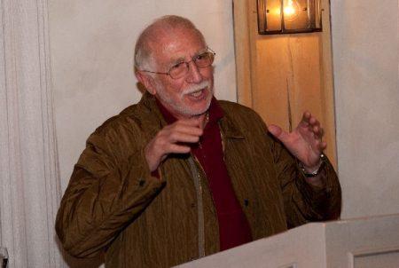 Paul Ruppert beim Jubiläum