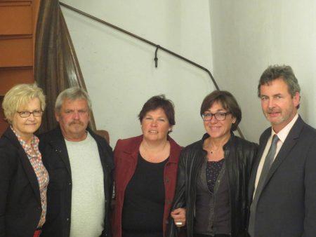 SPD Stadtratsfraktion 2014 Rgeine Bleckmann, Alfred Lanzendörfer, Antje Rammensee, Elisabeth Meinhardt und Hans-Jürgen Nekolla
