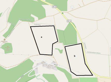 Lage Walkersbrunn II und III
