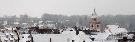 Gräfenberg im Winter vom Schießberg