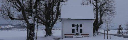 Lillinger Kapelle im Schnee