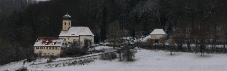 Kirche Walkersbrunn im Winter
