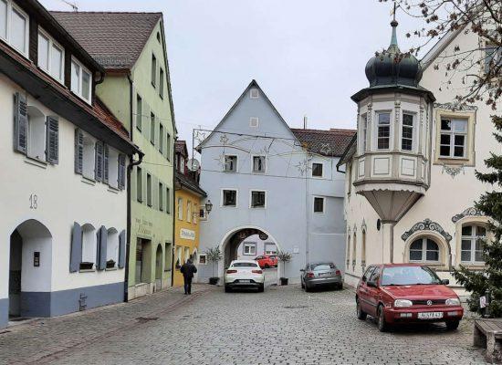 Durchfahrt Egloffsteiner Tor in Gräfenberg