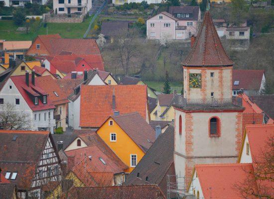 Gräfenberg Altstadt Kirchturm