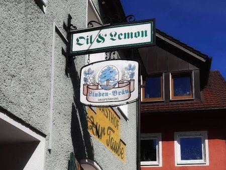 Oil & Lemon auch zur Taube Gräfenberg